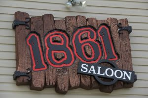 Custom Design Saloon Wood Sign