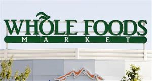 Whole Foods Market Custom Roof Top Sign