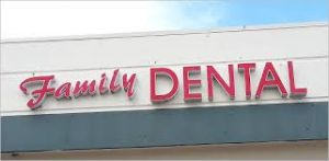 Custom Channel Lettering Dentist Office SIgn