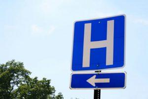 Hospital Directional Signage
