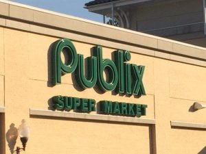 Publix Supermarket Neon Sign