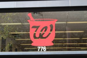 Cut Vinyl Logo Window Sticker