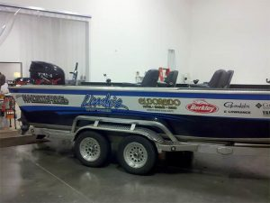 Custom Boat Wrap and Trailer Wrap