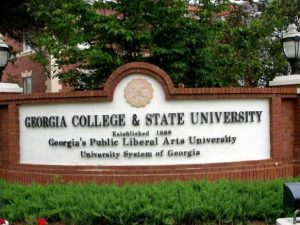 Georgia College & State University Monument Sign