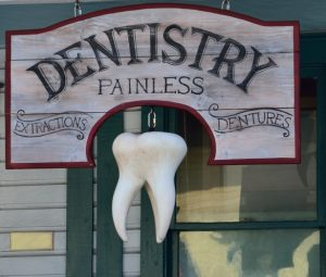 Dentist Office Custom Building Signage