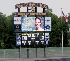 Baseball Scoreboard, High School Football Scoreboard