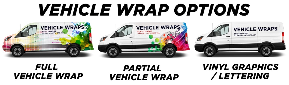 Hiram Vehicle Wraps vehicle wrap options