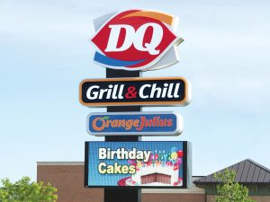 Lighted Signs 0092 Dairy Queen Bendsen Sign  Graphics W 19mm 80x176 Bloomington IL 101718 1 1 300x225