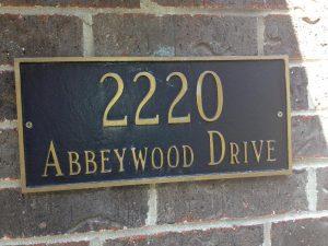 Address Signs address sign 1 300x225