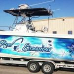 Vehicle Graphics custom boat wrap graphics vinyl boat wrap 300x173 150x150